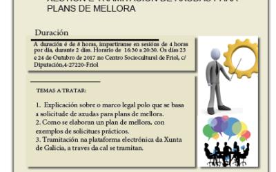 XORNADA FORMATIVA PLANS DE MELLORA