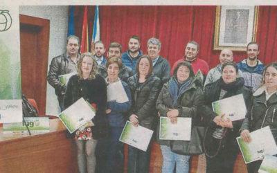 EL GDR FORMÓ A 25 JÓVENES PARA LA ACTIVIDAD AGRARIA