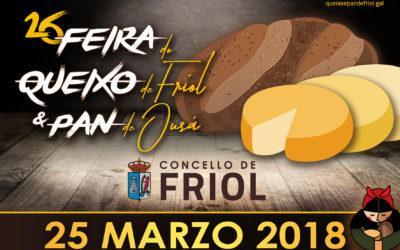 O GDR-4 participará na Feira do queixo de Friol