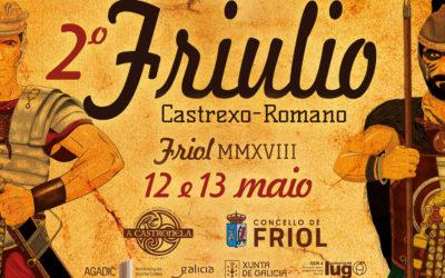 O GDR4 colabora co 2ª Friulio Castrexo Romano de Friol